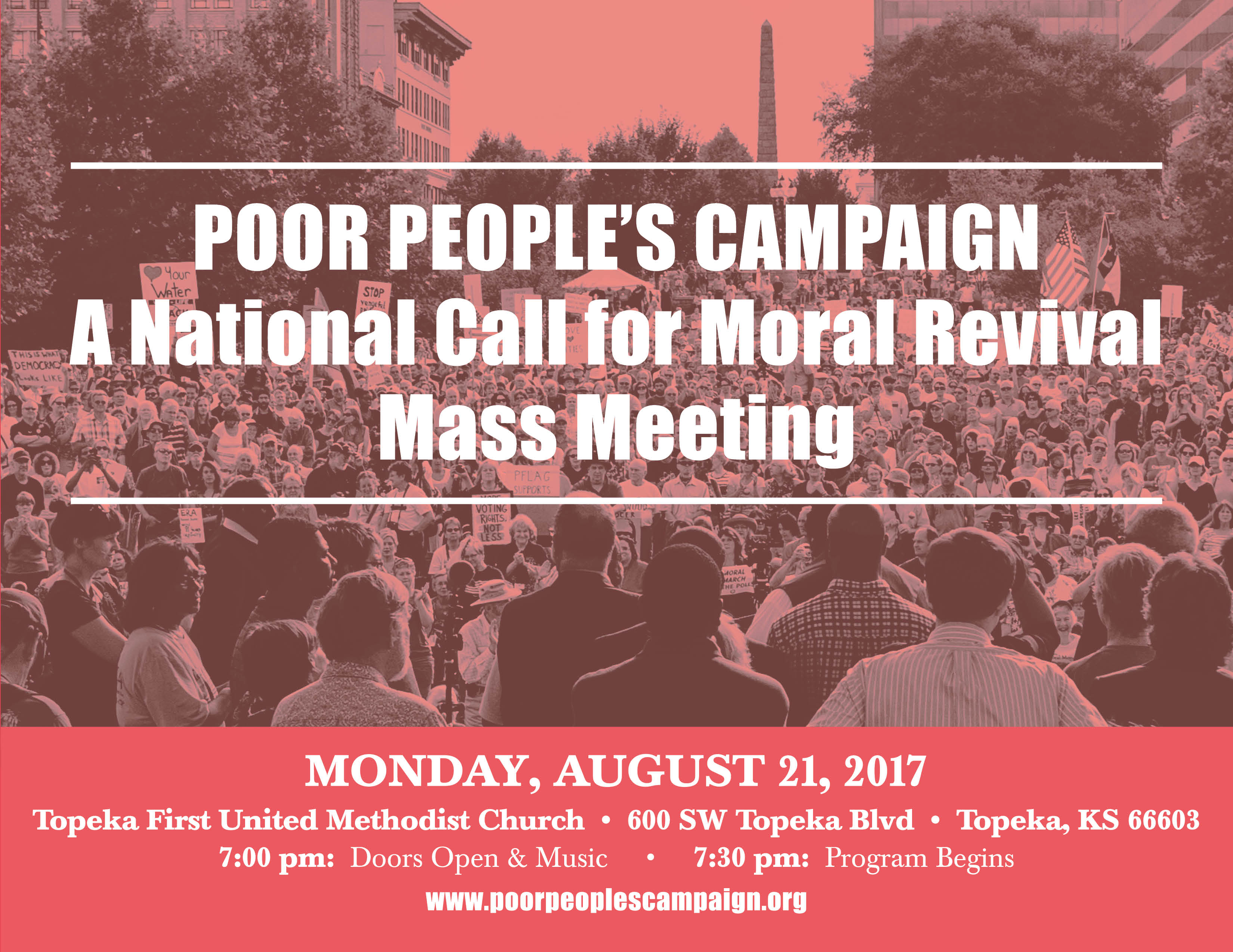 Poor People's Campaign Topeka Mass Meeting